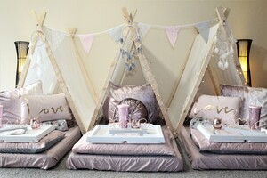 Glamping & Sleepover Parties