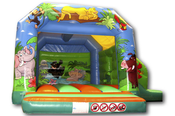 Jungle Slide Combi Castle