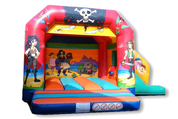 Pirate Slide Combi Castle