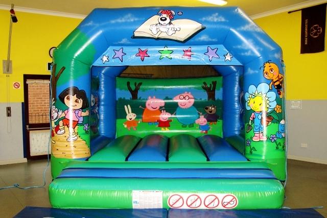 Tots TV Bouncy Castle