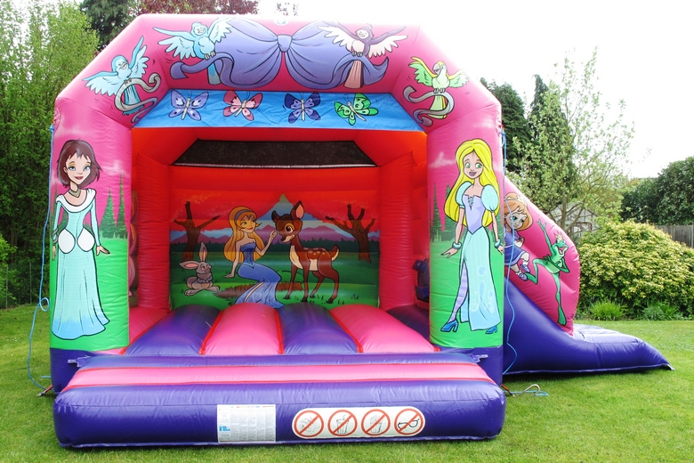 Princess Slide Combi Bouncy Castle