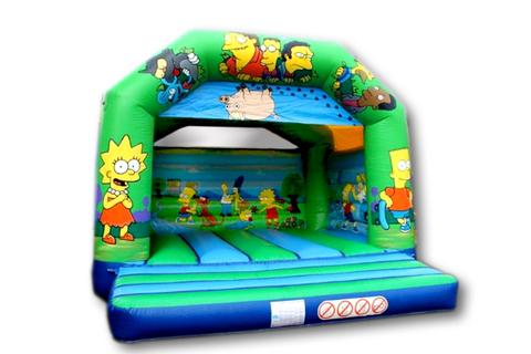Adult Cartoon Bouncy Castle Hire