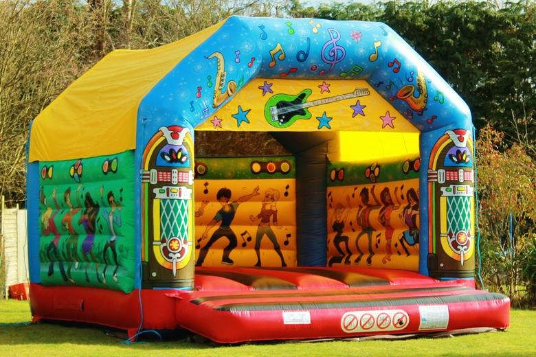 Adult Juke Box Bouncy Castle Hire