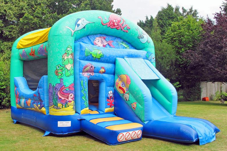 Sea Bouncy & Slide Bouncy Castle