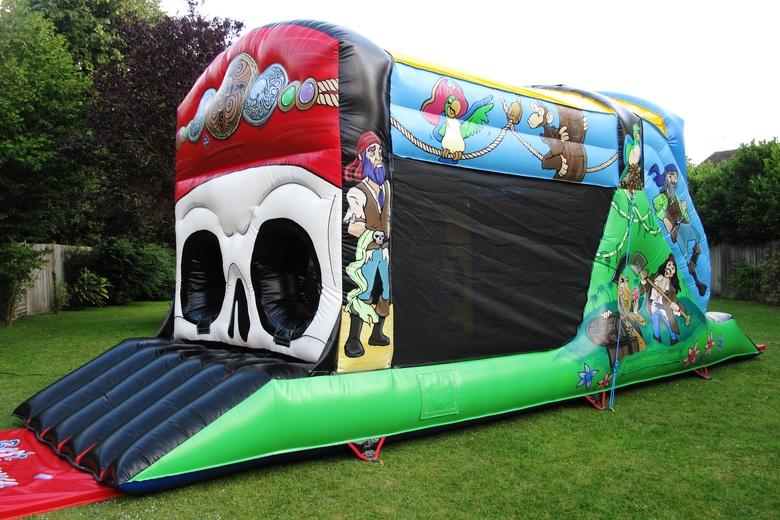 Pirate Fun Run Bouncy Castle