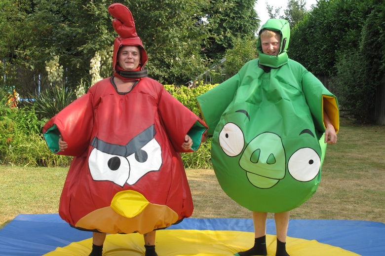Angry Bird Sumo Suits