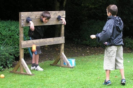 Wooden Stocks Hire