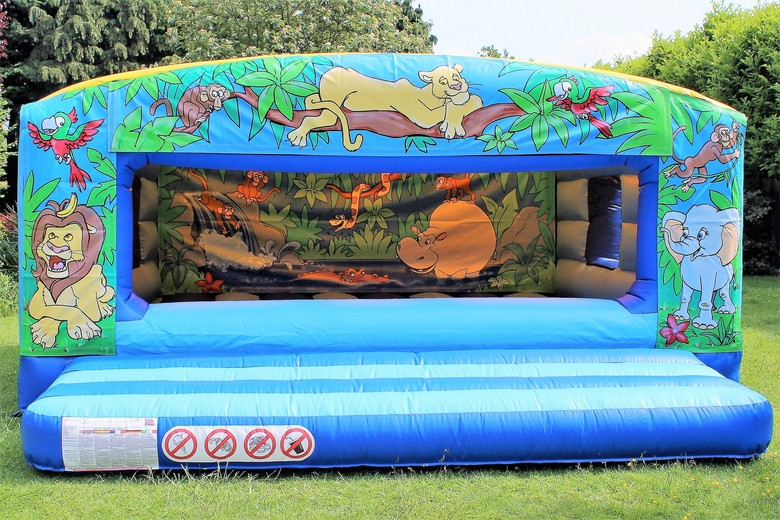 Jungle Box Toddler Bouncy Castle