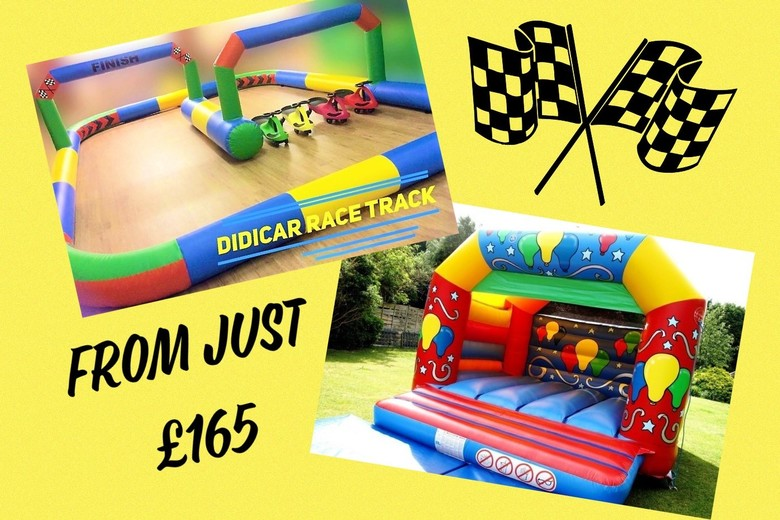 Didi Car Track & Bouncy Castle