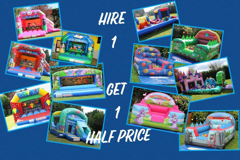 Hire One & Get A 2nd Half Price