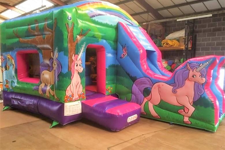 Unicorn Jump N Slide