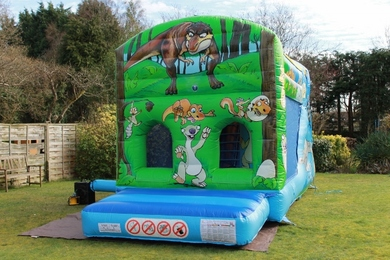 Dinosaur Fun Run Bouncy Castle Hire