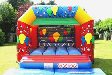 Balloons Celebration Bouncy Castle