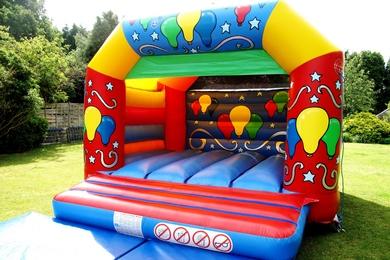 Big Balloons Celebration Bouncy Castle