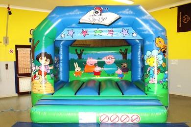 Childrens Tots TV Bouncy Castle