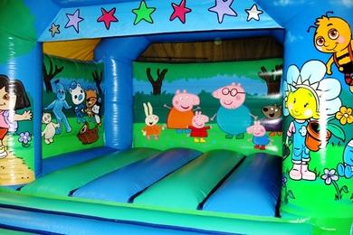 Tots TV Bouncy Castle Inside