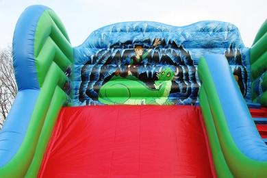 Inflatable Dragon Slide