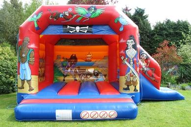 Pirate Slide Combi Bouncy Castle