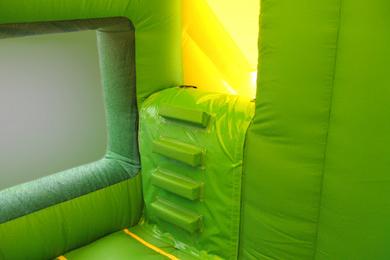Jungle Box Jump & Slide Bouncy Castle Steps