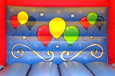 Balloons Bounce Castle With Slide Hire