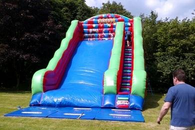 Inflatable Mega Circus Slide