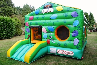 Bounce & Ball Pond Bouncy Castle Slide