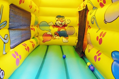 Bounce & Ball Pond Bouncy Castle Hire