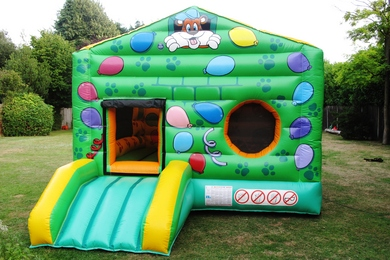 Bounce & Ball Pond Bouncy Castle