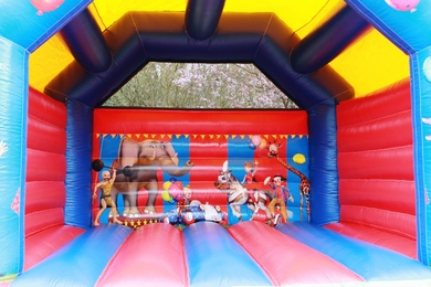 Adult Bouncy Castle Circus