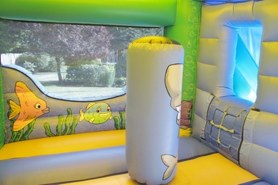 Inside Slide Sea Bounce & Slide Bounce Castle