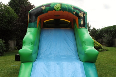 Slide Jungle Fun Run Bouncy Castle Hire