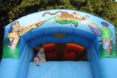 Pirate Fun Run Bouncy Castle Slide