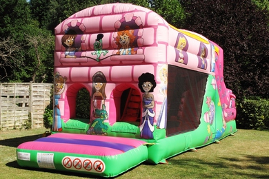 Princess Fun Run Bouncy Castle
