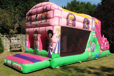 Princess Fun Run Bouncy Castle Hire