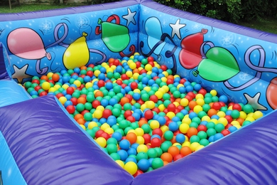 Balls Big Blue Ball Pond