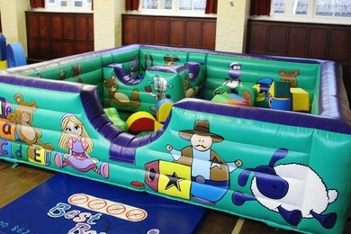 Inflatable Tots Toy Box