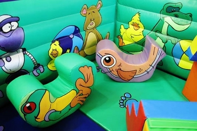 Tots Toy Box Soft Play Animal Shapes