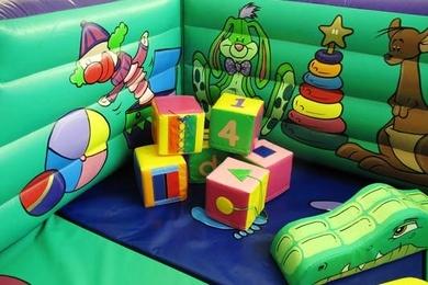 Tots Toy Box Soft Play Activity Cubes