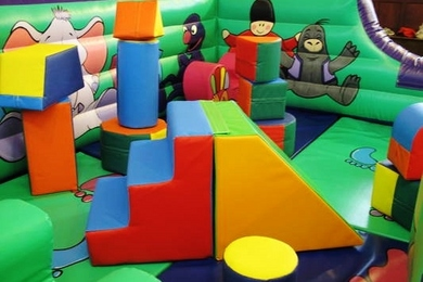Tots Toy Box Soft Play Step & Slide