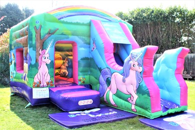 Unicorn Bouncy Castle Hire Surrey