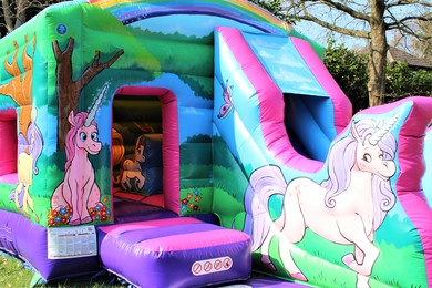 Unicorn Bouncy Castle Hire Berkshire