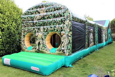 Adult Inflatable Obstacle Course Hire