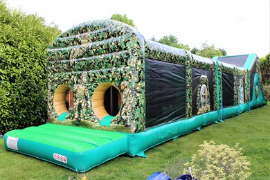 Adult Inflatable Obstacle Course Hire Surrey